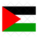 State Of Palestine Flag Flags Icon