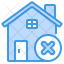 State Quarantine Stay At Home Home Icon
