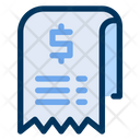 Bill Cost Payment Icon