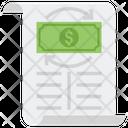 Statement Of Cash Flow Money Flow Statement Cash Flow Icon