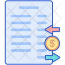Statement Of Cash Flow Icon