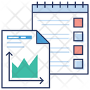 Statical Report Statistics Graph And Chart Icon