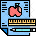 Station Educational Things Stationary Things Icon