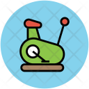Stationary Bicycle Exercise Icon
