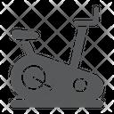 Stationary Bike Equipment Icon