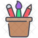Stationary Pencil Tool Icon