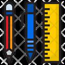 Stationary Pen Pencil Icon