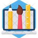 Stationary Pencil Tool Icon