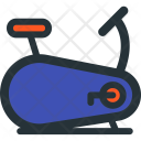 Stationary, Bike Icon