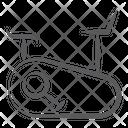 Stationary Bike Icon