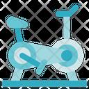 Fitness Gym Stationery Bike Icon