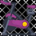 Stationary Bike Rowing Machine Exercise Cycle Icon