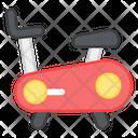 Stationary Bike Exercise Ergometer Icon