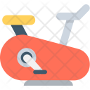 Stationary Cycle Icon