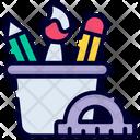 Stationary Jar Icon