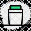 Stationary Jar Pencil Jar Jar Icon