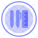 Scholl Material Ruler Icon