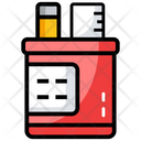 Office Supplies Stationery Ruler Icon