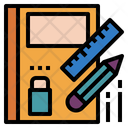Stationery Tools Learning Icon