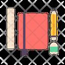 Stationery School Education Icon