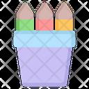 Stationery Pencil School Icon