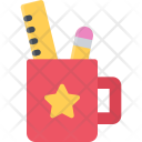 Stationery Tool Pencil Icon