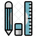 Stationery Pencil Eraser Icon