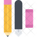 Stationery Office Pencil Icon