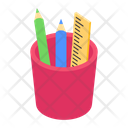 Stationery Stationery Pot Sketching Tools Icon