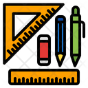 Stationery Pencil Tool Icon