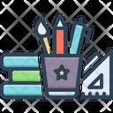 Stationery Equipment Pencil Icon