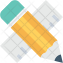 Pencil Ruler Geometry Icon