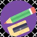 Stationery Pencil Sharpener Icon