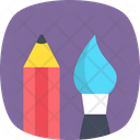 Painting Tool Stationery Paint Icon