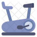 Stationery Bike Gym Cycling Exercise Cycle Icon