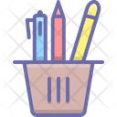 Stationery Pen Pencil Icon