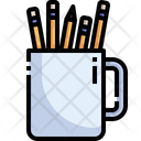 Stationery Jar Icon