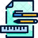 Stationery tools Icon