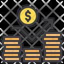 Statistic Money Growth Cash Icon