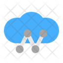 Cloud Network Communication Icon