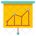 Statistic Growth Graph Marketing Analysis Icon