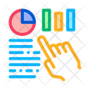 Statistician Assistant Hand Icon