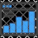 Statistic Analytics Graph Icon