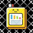 Statistic Report Graph Icon