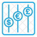 Statistic Currencies Icon