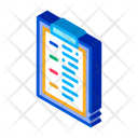 Statistician Report Tablet Icon