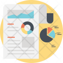 Statistic Report Icon