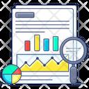 Data Analysis Statistical Analysis Data Evaluation Icon