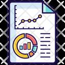 Data Analysis Statistics Data Business Infographic Icon