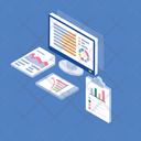 Statistical Presentation Icon